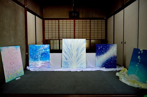 自主企画現代アート展(春日神社)