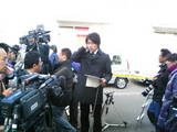 NHKカメラテスト中