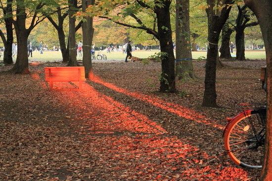 代々木公園で^^