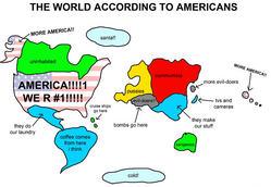アメリカ人の世界観