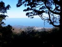 浮嶽より福吉の海を望む