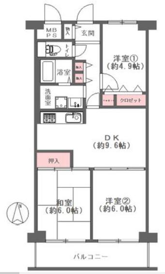ユニハイム千船一号棟★8階