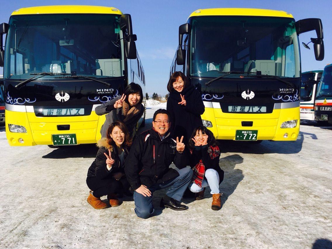 釧路衛星バスガイド日記:新車2台...