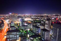 福岡タワーから見る夜景