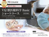 VSJ 獣医眼科学 Basic  ショートコース 3回シリーズ