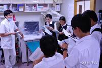 小平市立上水中学校 1年生の職場訪問
