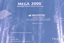 MEGA2000  容量結合型対極板