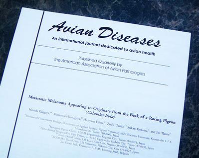 鳥の疾病の専門誌 Avian Diseases
