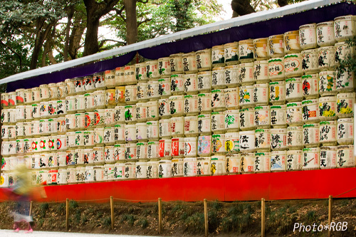 清酒・菰樽