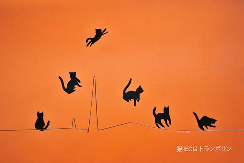 猫 ECGトランポリン PQRST-rampoline