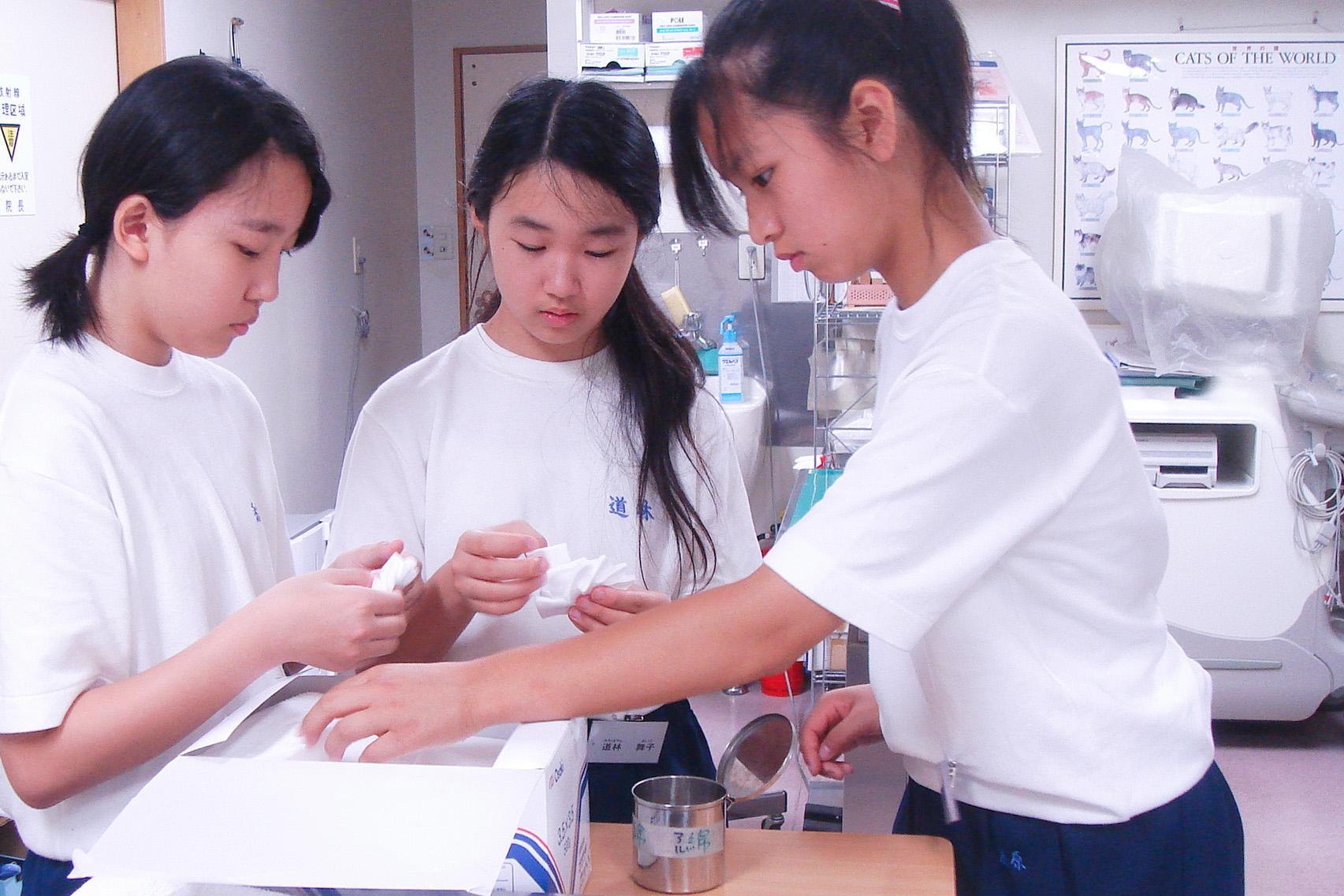 職場体験学習 2008