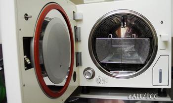 新しく導入したエチレンオキサイドガス滅菌器