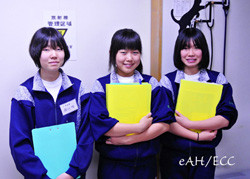 中学生(小平六中)の職場体験学習 2012