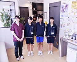 中学生(小平五中)の体験学習  2019(R1)0910  11  13