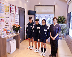中学生(小平六中) 職場体験学習 2018