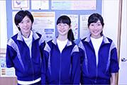 小平六中の生徒さん 職場体験学習 2014
