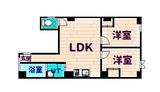 ジアス新地ビル4階間取りJPG