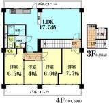 メゾン西宮4A-3号室