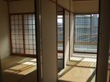 京橋第二コーポ和室1