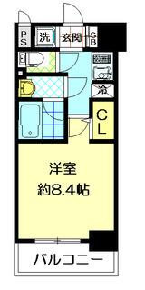 クレアートアドバンス北大阪604間取
