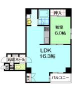 ルネ中之島1103号室