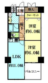 中之島ロイヤルハイツ3階