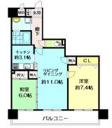 ダイアパレス今福鶴見502号室