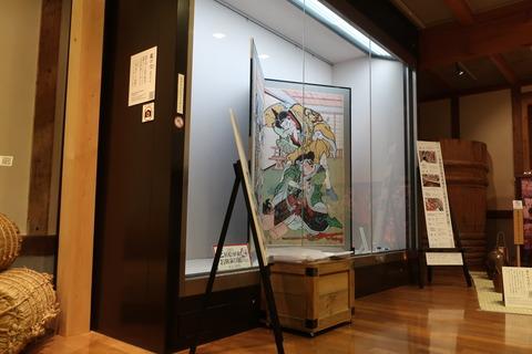 赤岡絵金芝居絵屏風お披露目展2021