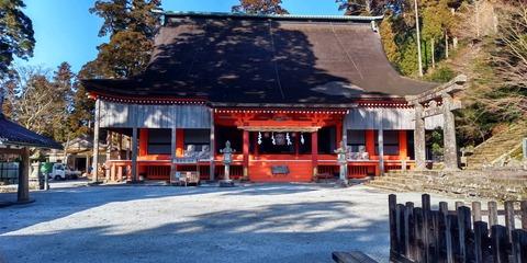 英彦山神社奉幣殿