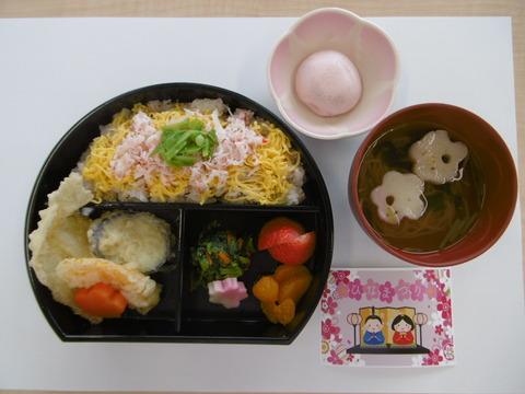 03ひな祭り弁当3
