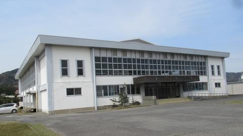 東浦中学井植体育館