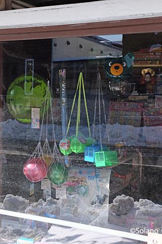 幾寅市街地の商店