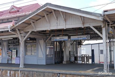 浜寺公園駅、屋外の降車用改札口