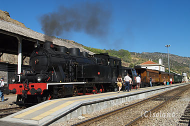 ポルトガル、動態保存されている蒸気機関車