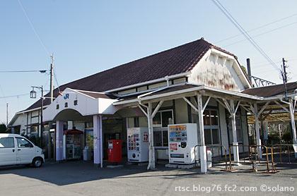 JR西日本・紀勢本線、湯浅駅の木造駅舎