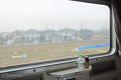 下り急行きたぐに車窓、新潟県内