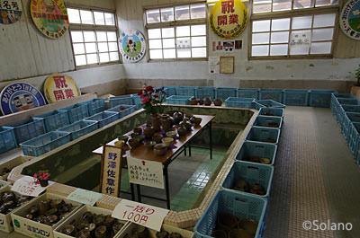 天竜二俣駅車両基地、浴場