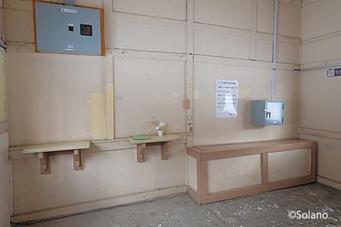 JR北海道・石北本線、下白滝駅の窓口跡