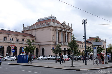 ザグレブ中央駅駅舎