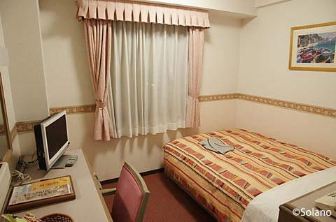ホテル・アルファーワン津山、シングルルーム