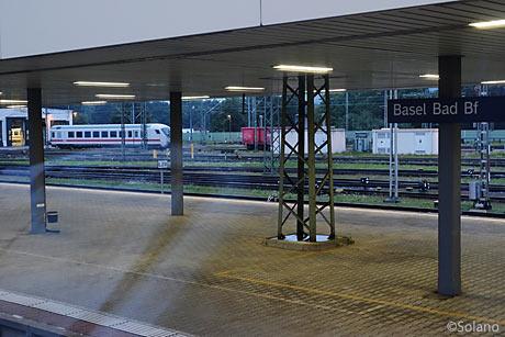 ドイツ鉄道側バーゼル駅、バディッシャー駅