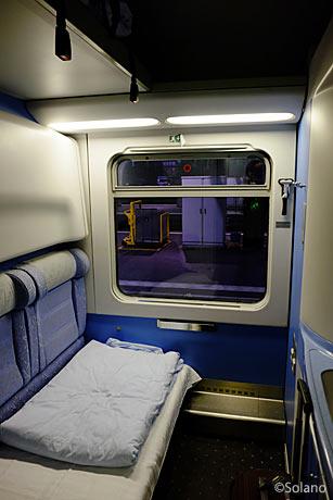 クロアチア鉄道、個室寝台車