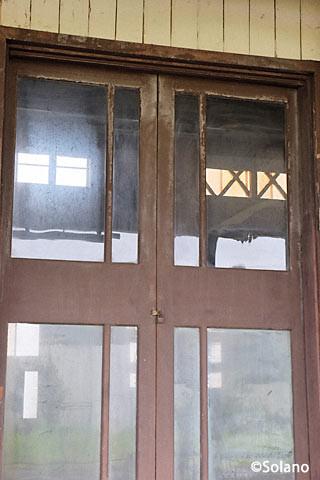 神町駅、鉄道運輸司令部事務所(RTO)跡を外から見る