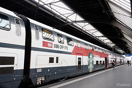 スイス国鉄、スターバックス列車