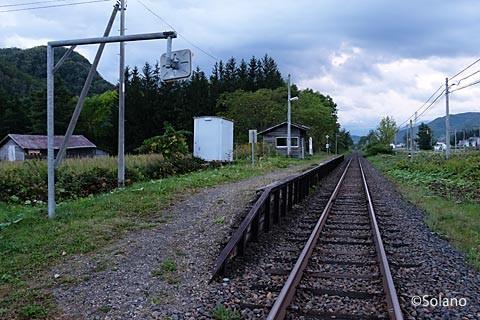石北本線、白滝シリーズの秘境駅・旧白滝駅。