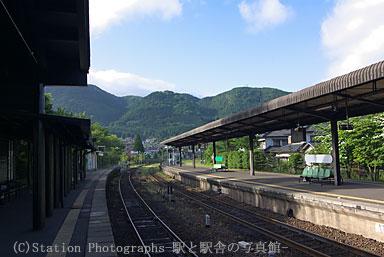 久大本線、由布院駅ホーム
