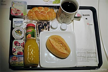 CNLデラックスルームの朝食