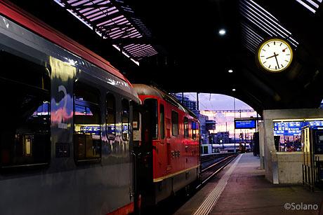 ザグレブへの夜行列車・ユーロナイト