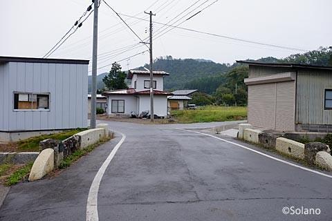 中川駅近く、石造りの小巌橋