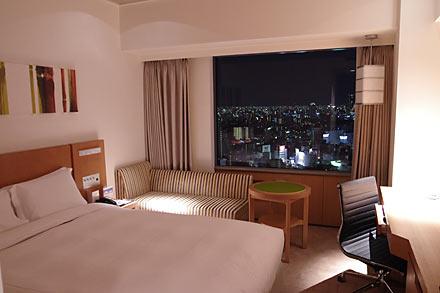 スイスホテル南海大阪、客室